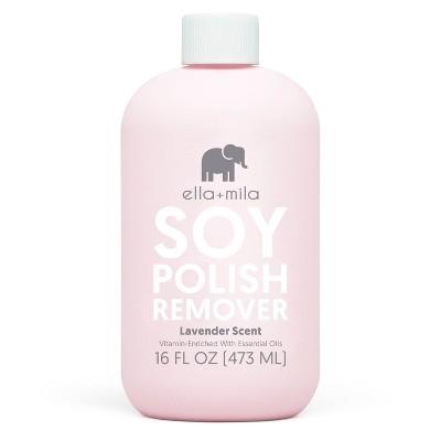ella+mila Nail Care Soy Nail Polish Remover - 16 fl oz