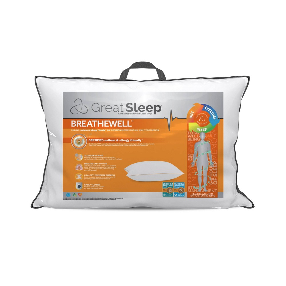 Jumbo Breathewell Aafa Bed Pillow Great Sleep