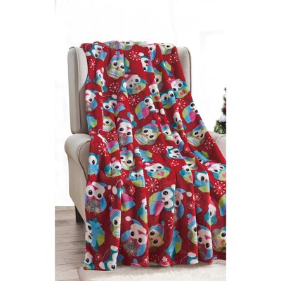 "Extra Plush and Comfy Microplush Throw Blanket (50"" x 60"")"