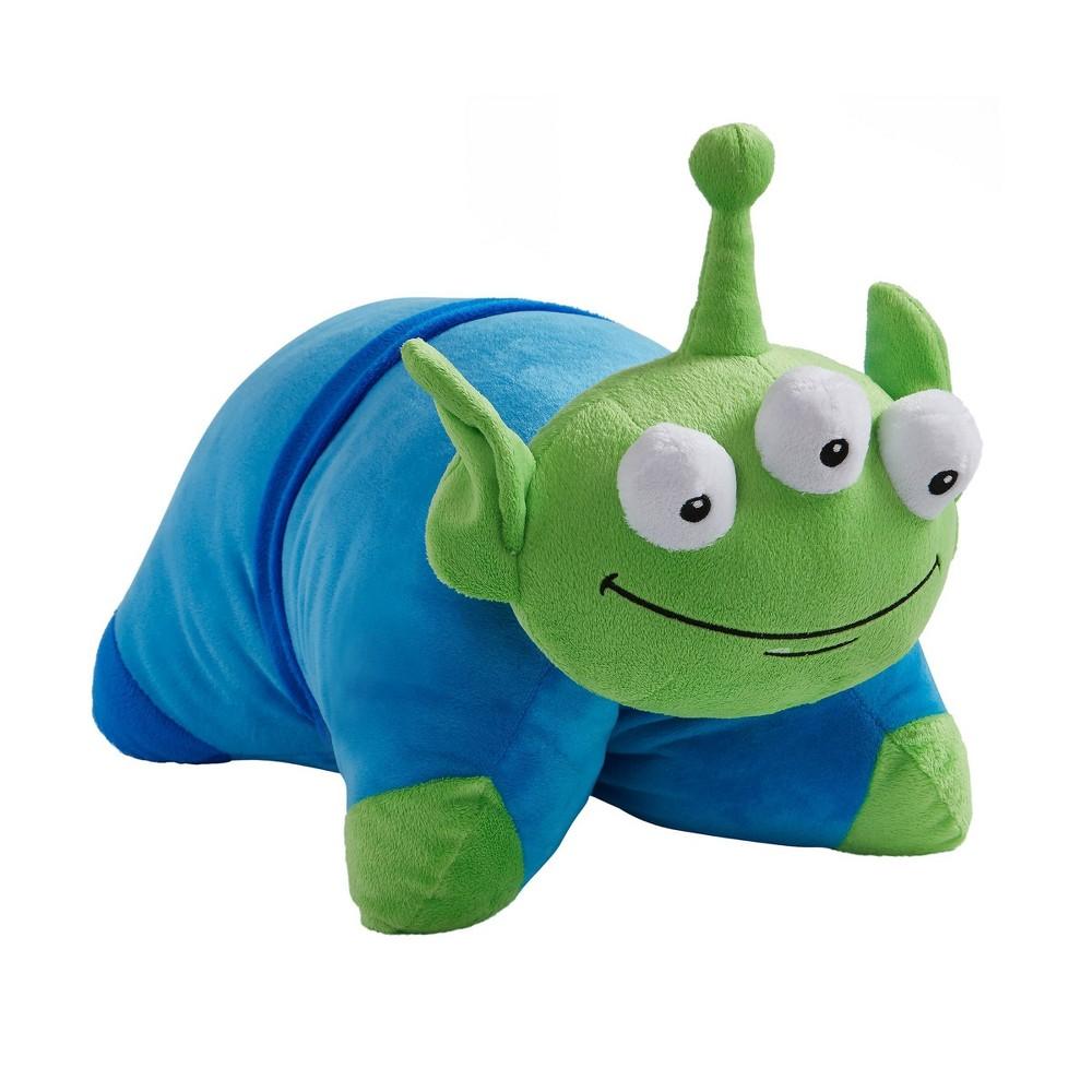 "Image of ""16"""" Disney Pixar Toy Story Little Green Man Pillow Pet - Pillow Pets"""