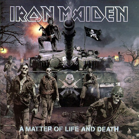 Iron Maiden - A Matter of Life and Death (CD) - image 1 of 1