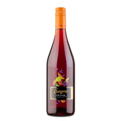 Oliver Classic Red Sangria Wine - 750ml Bottle
