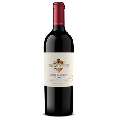 Kendall-Jackson Vintner's Reserve Merlot Red WIne - 750ml Bottle