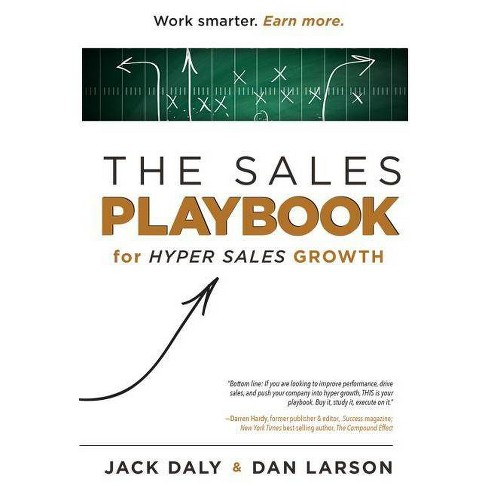 The Sales Playbook - by  Jack Daly & Dan Larson (Hardcover) - image 1 of 1