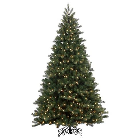 48de5b4953d 9ft Pre-Lit LED Artificial Christmas Tree Full Noble Spruce Instant ...