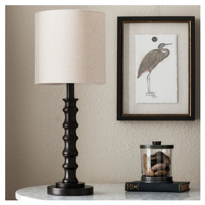 Shiloh Table Lamp Espresso (Lamp Only)- Threshold™