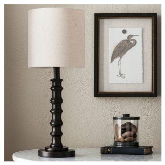 Shiloh Table Lamp Espresso Bronze - Threshold™