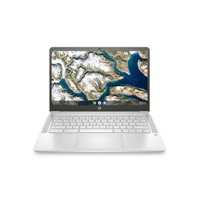 "HP 14"" Touchscreen Chromebook Laptop with Chrome OS - Intel Processor - 4GB RAM Memory - 64GB Flash Storage - Mineral Silver (14a-na0037nr)"