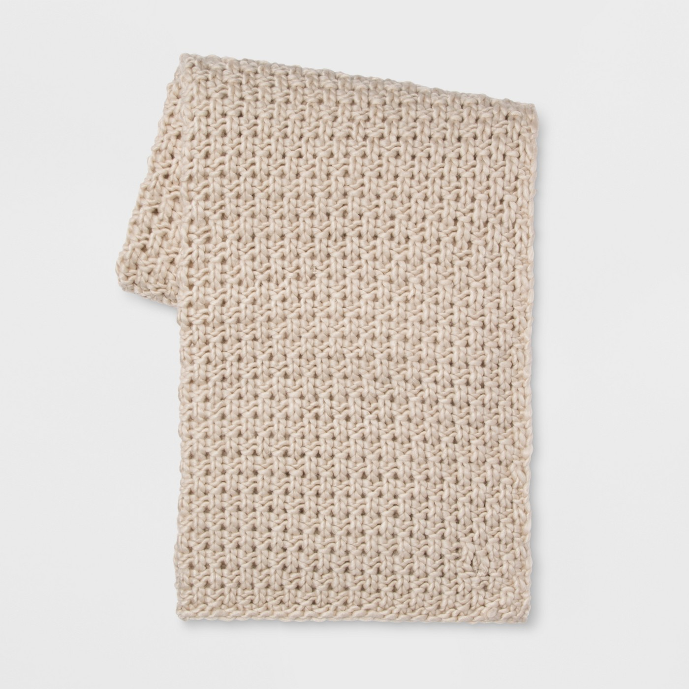 Chunky Knit Throw - Threshold - image 1 of 5