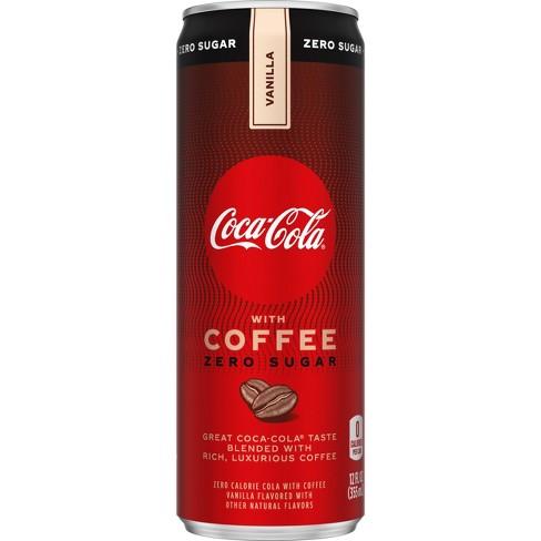 Coca-Cola with Coffee Vanilla Zero Sugar - 12 fl oz Can - image 1 of 4