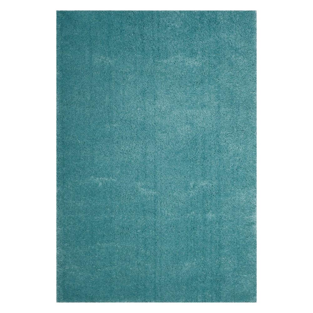 8'X10' Solid Loomed Area Rug Turquoise - Safavieh