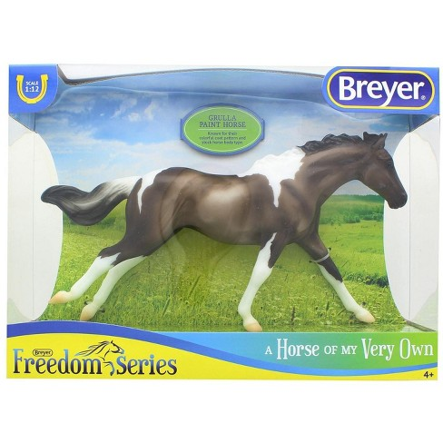 Breyer Animal Creations Breyer Classics 1/12 Model Horse - Grulla Paint Horse - image 1 of 2