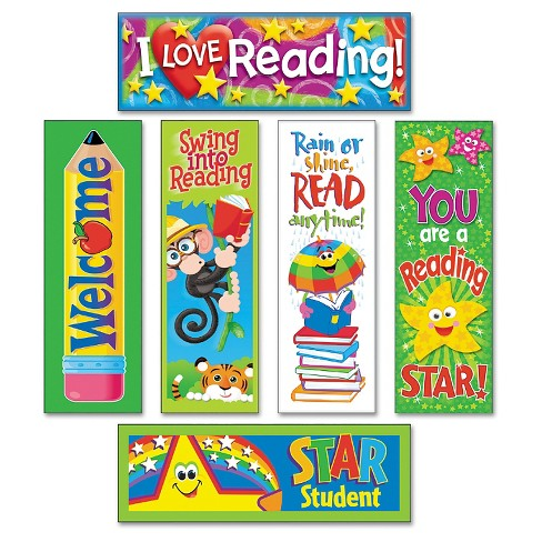 TREND Bookmark Combo Packs, Reading Fun Variety Pack #2, 2w x 6h, 216/Pack - image 1 of 1