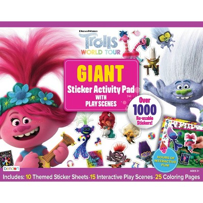 Trolls: World Tour Giant Sticker Activity Pad