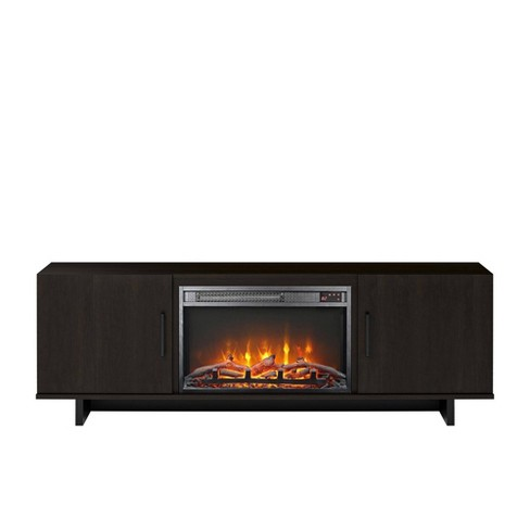 "60"" Rockwood Tv Stand with Fireplace - Room & Joy - image 1 of 4"
