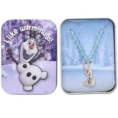 Walmart Frozen Necklace: Olaf I Like Warm Hugs!