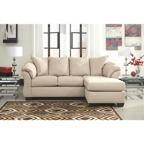 Darcy Sofa Chaise Stone Signature Design By Ashley Target