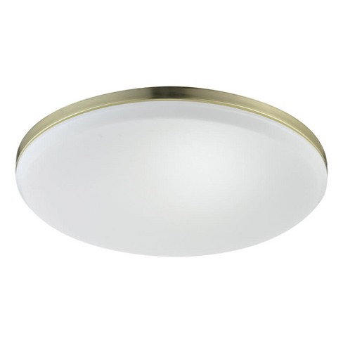 Globe Electric 69978 Novogratz Slim 3000K LED Flush Mount Ceiling Light - image 1 of 4