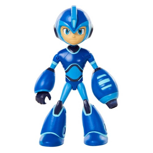 """Mega Man Fully Charged 5"""" MegaMan with Buster and Energy Blast - image 1 of 4"""
