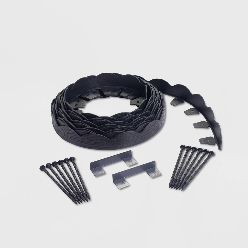 Image of 40' No-Dig Garden Edging Kit Black - EasyFlex