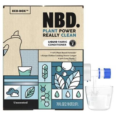 NBD Unscented Liquid Fabric Conditioner - 70 fl oz