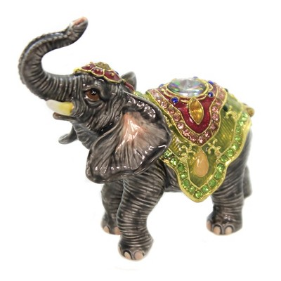 HATTIE THE ELEPHANT FRIENDS TRINKET BOX R47659