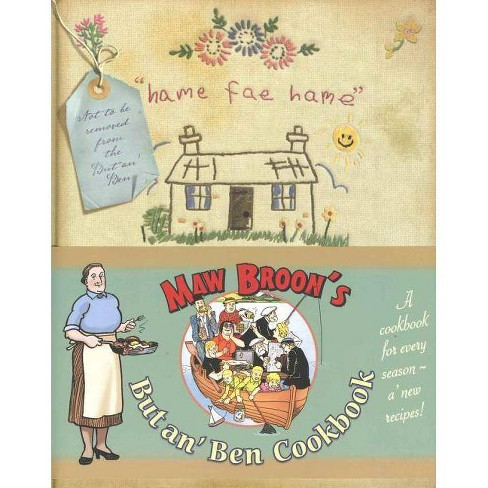 Maw Broon's But An' Ben Cookbook - (Hardcover) - image 1 of 1