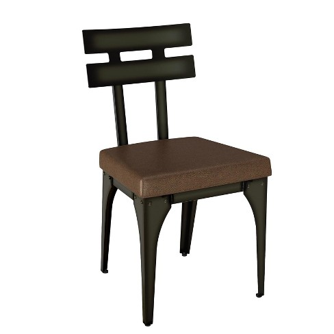 Knowlton Metal Dining Chair 2 in Set - Amisco - image 1 of 2
