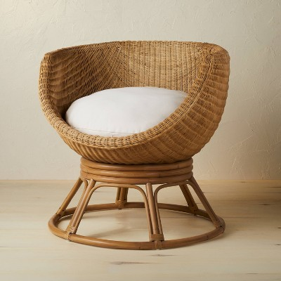 Castilia Rattan Egg Chair Ivory - Opalhouse™ designed with Jungalow™
