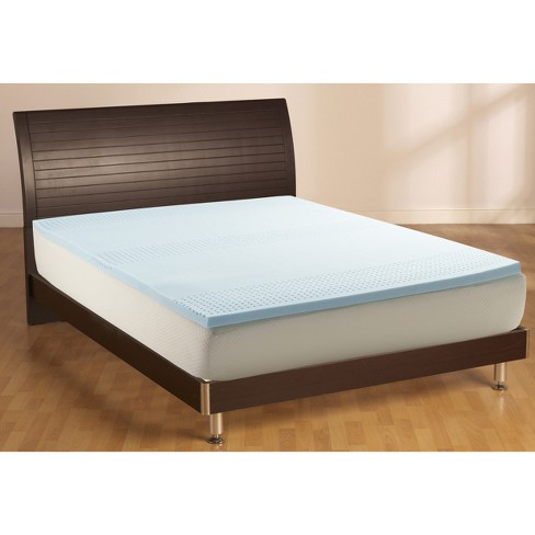2 Cooling Gel Mattress Topper King White Made By Design Target