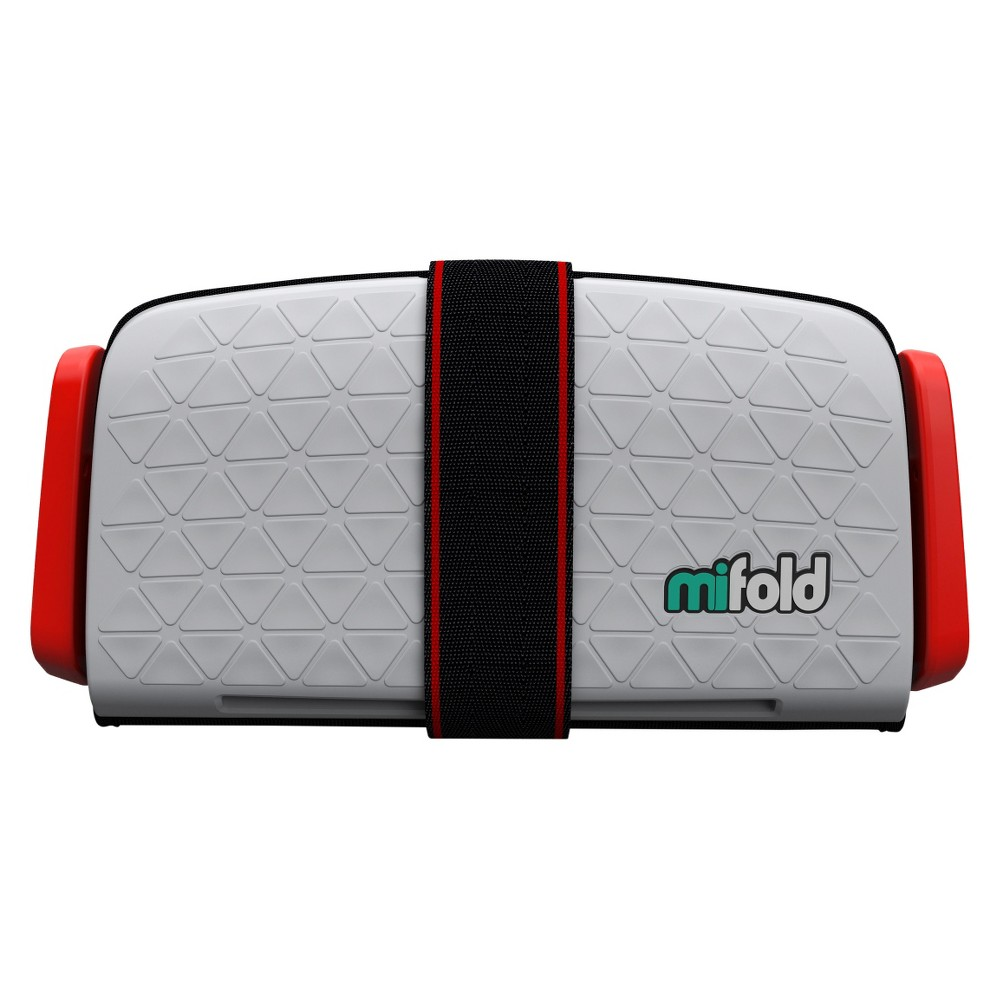 mifold Grab-n-Go Car Booster Seat, Gray