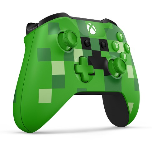 Xbox Wireless Controller Minecraft Creeper Target