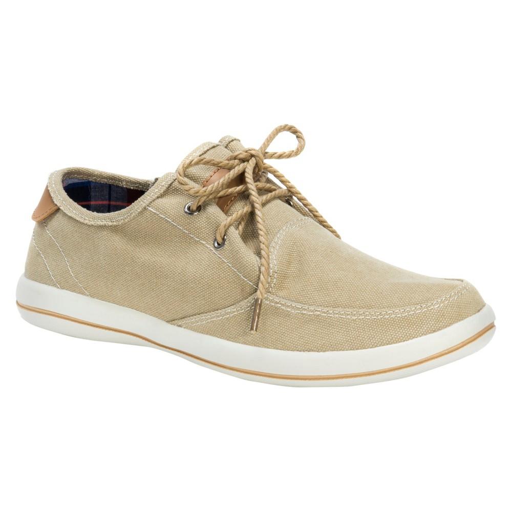 Men's Muk Luks Josh Adult Sneakers - Tan 12