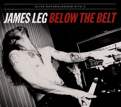James leg - Below the belt (CD) - image 1 of 1