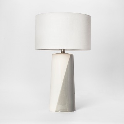 Cohasset Dipped Ceramic Table Lamp Gray - Project 62™
