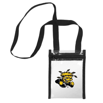 NCAA Wichita State Shockers Clear Crossbody Messenger Bag