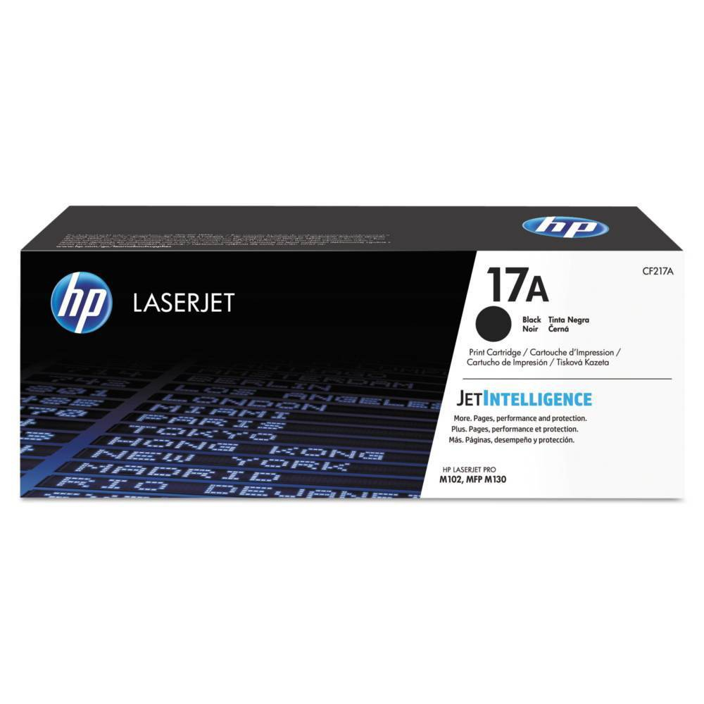 Hp 17a Laserjet Toner Cartridge Black Cf217a