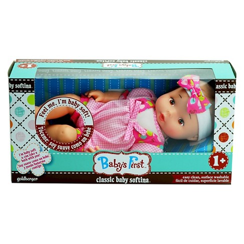 Baby's First™ Classic Softina Hispanic Baby Doll - Outfit Color Varies - image 1 of 3