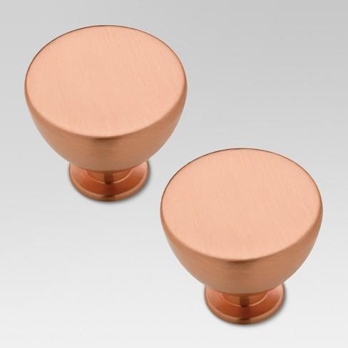 Jessina Knob - Copper - 2pk - Threshold™ - image 1 of 1