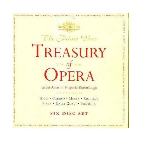 Various - Treasury of Opera: Act II (CD) - image 1 of 1