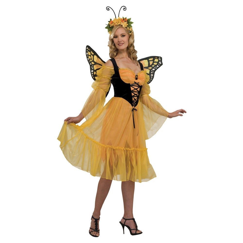 Women's Monarch Butterfly Costume One Size Fits Most, Multi-Colored