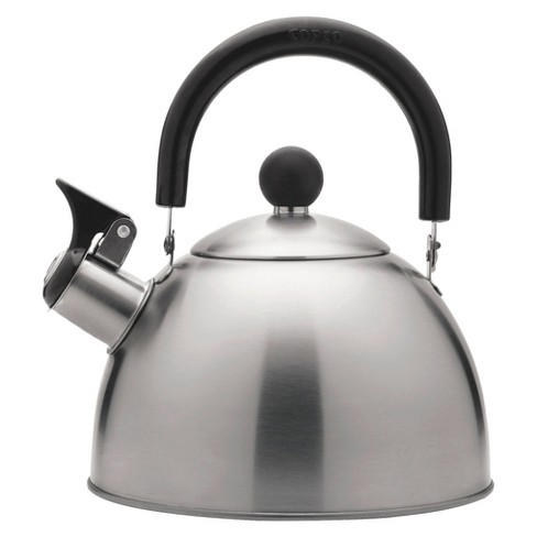 copco tea kettle 1 3qt brushed stainless steel target