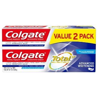 Colgate Total Advanced Whitening Paste Toothpaste - 5.1oz/2pk
