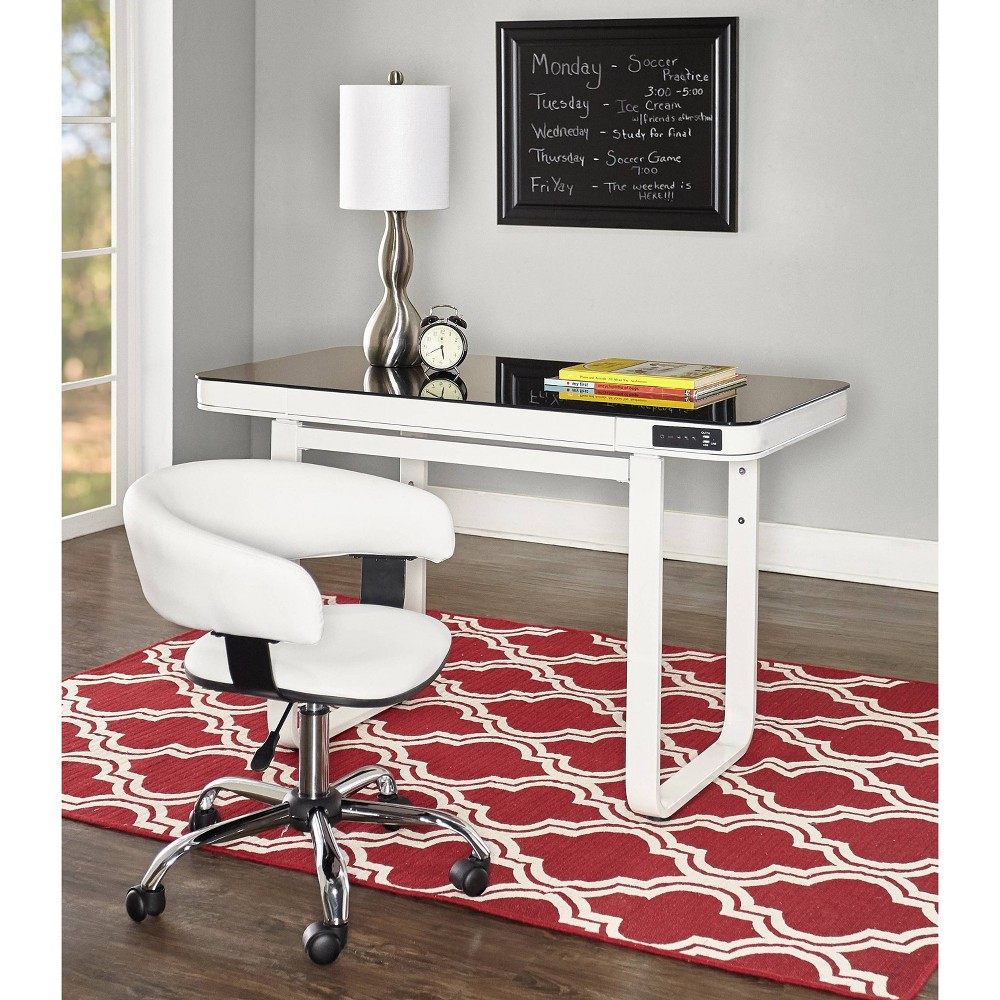 Nicholas Desk Set White - Powell Company