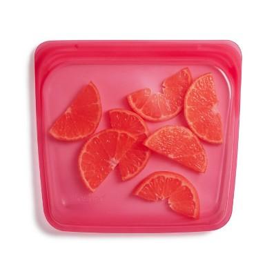 stasher Reusable Food Storage Sandwich Bag - Raspberry