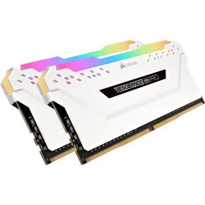 Corsair Vengeance RGB Pro 16GB DDR4 SDRAM Memory Module - 16 GB (2 x 8 GB) - DDR4-3200/PC4-25600 DDR4 SDRAM - CL16 - 1.35 V - Non-ECC - Unregistered
