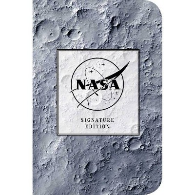 NASA Signature Notebook - by  Cider Mill Press (Leather Bound)