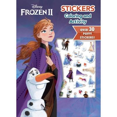 Frozen 2 Puffy Sticker