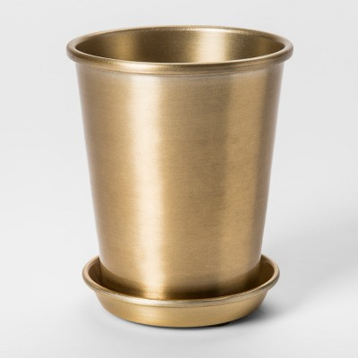 5  x 4  Brass Planter Gold - Smith & Hawken™