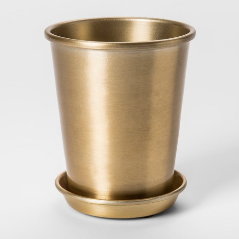 Brass Planter Gold - Smith & Hawken™ - image 1 of 1